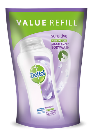 Sabun Cair Anti Bakteri Dettol Sensitive (450ml)